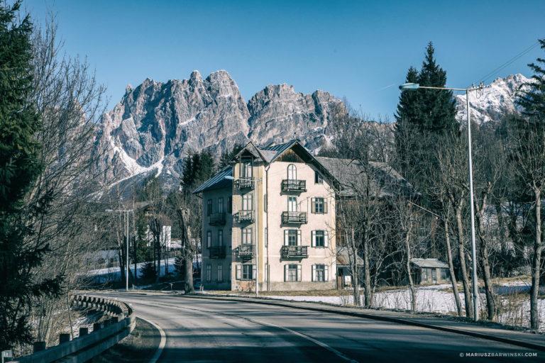 Przez Bad Gastein do Cortiny d'Ampezzo.