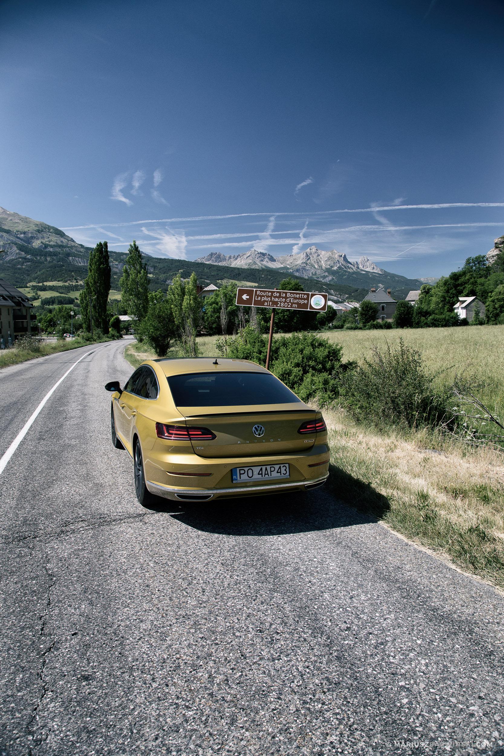 Najwyższa droga w Europie – Col de la Bonette.