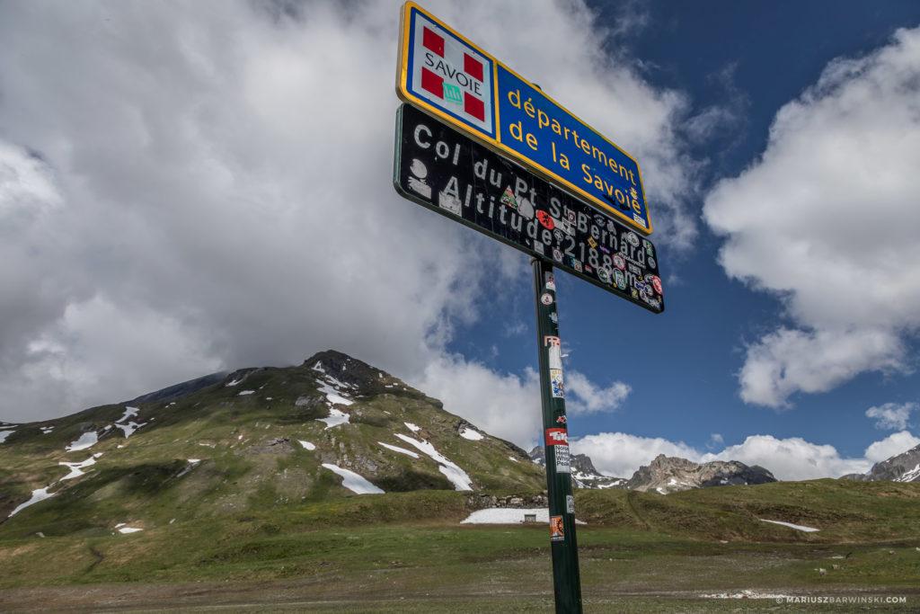 Mała Przełęcz Świętego Bernarda.